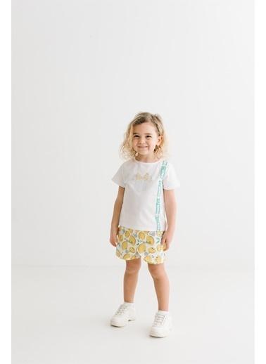 Minnie Mouse Lisanslı Çocuk Takım 17470 Beyaz